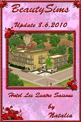 Sims 3 hotel, build, commercial, lot