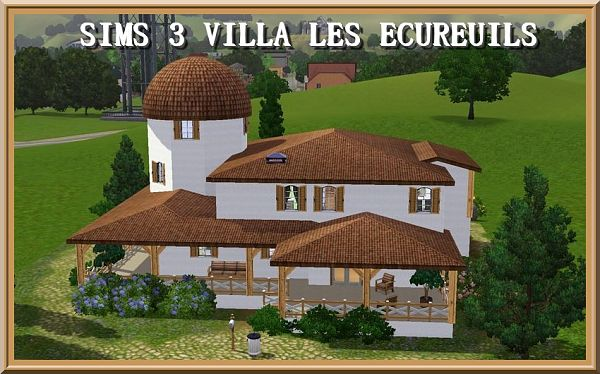 Sims 3 house, residential, lot, plot