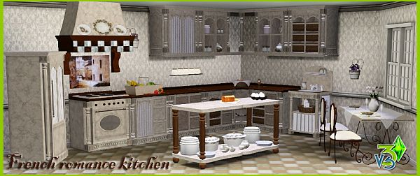 Sims 3 kitchen, room, furniture, objects, set