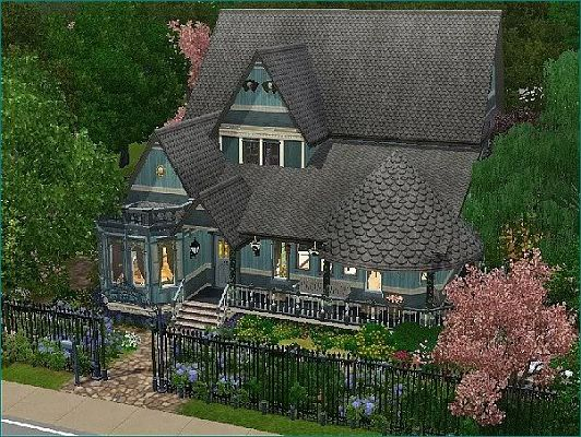 Sims 3 model home