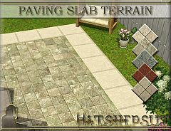 Sims 3 paints, terrain, paving
