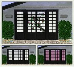 Sims 3 oriental, door, window
