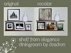 Sims 3 paintings, elegance, homely