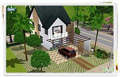 Sims 3 bedroom, bathroom, kitchen, house, lot, building