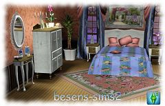 Sims 3 furniture, bedroom, objects, decor