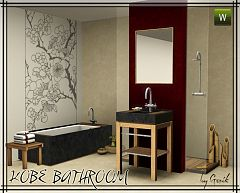 Sims 3 bath, bathroom