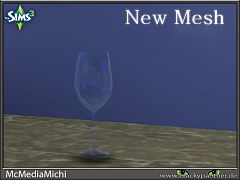Sims 3 wine glass, clutter, decoration, kitchen