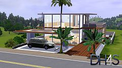 Sims 3 lot, building, house