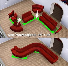 Sims 3 sofa, furniture, object, objects