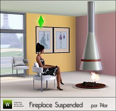 Sims 3 fireplace, object
