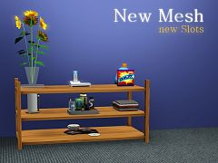 Sims 3 object, furniture, rack