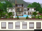 Sims 3 windows, modern, architecture, build