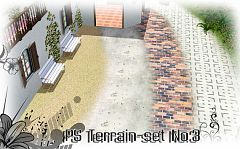 Sims 3 terrain, set, paints, texture