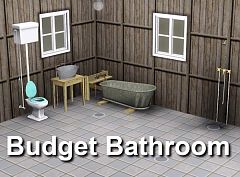 Sims 3 bath, bathroom, objects