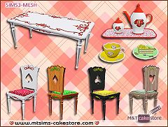 Sims 3 furniture, objects, decor