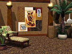 Sims 3 paintings, decor