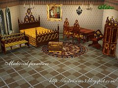 Sims 3 furniture, objects, decor, medieval