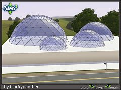 Sims 3 glass, dome, build, roof