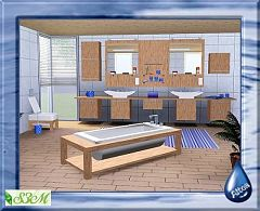Sims 3 barh, bathroom, furniture, objects, decor