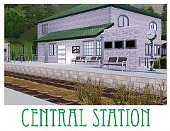 Sims 3 station, lot, community