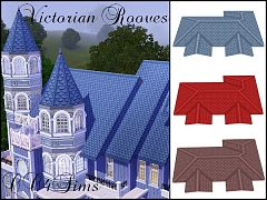 Sims 3 roof, victorian, build, objects