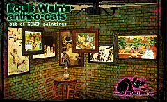 Sims 3 paint, paintings, decor