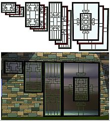 Sims 3 windows, oriental, build