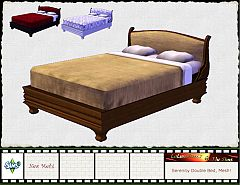 Sims 3 bed, furniture, bedroom