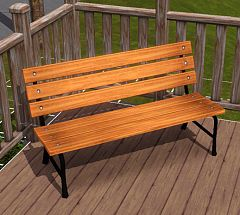 Sims 3 objects, decor, decorations, furniture, bench