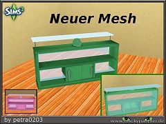 Sims 3 furniture, desk, objects, mesh