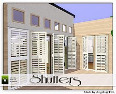 Sims 3 shutters, build