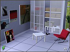 Sims 3 furniture, objects, study