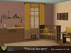 Sims 3 potty chair, picture, dresser, crib, powder