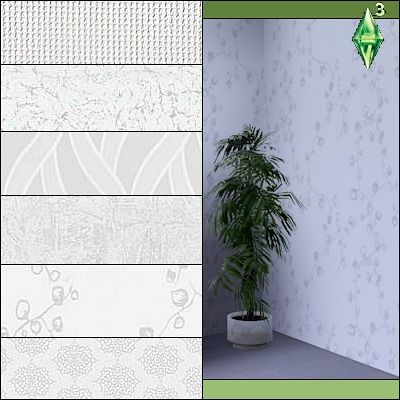 Sims 3 patterns, objects