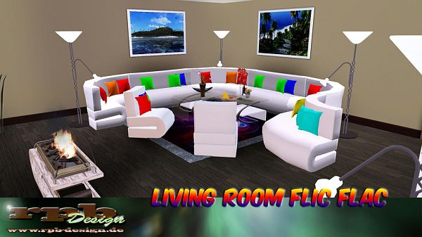 Sims 3 livingroom, furniture, objects
