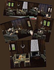 Sims 3 tavern, furniture, bar