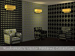 Sims 3 pattern, vector, tile, seamless, texture