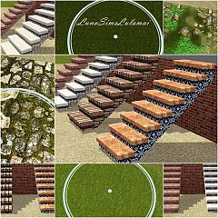 Sims 3 stairs, build