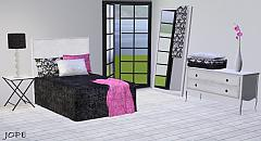 Sims 3 bed, bedroom, furniture, sims