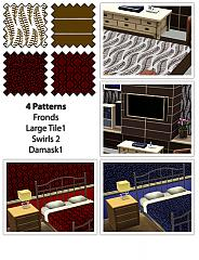 Sims 3 pattern, seamless, texture, fabric