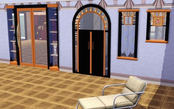 Sims 3 build, windows, door, set