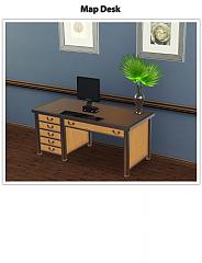 Sims 3 table, desk, coffe table, surface, furniture