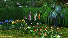 Sims 3 plant, flowers, outdoor