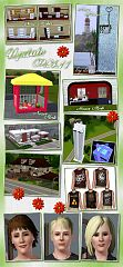 Sims 3 furniture, objects, decor, plants