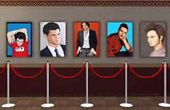 Sims 3 actor, celebrity, posters, paintings