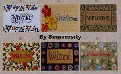 Sims 3 welcome, rugs, miscellaneous