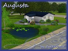 Sims 3 house, residential, lot