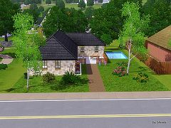 Sims 3 house, residencial, lot