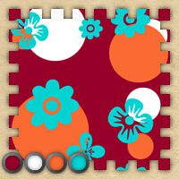 Sims 3 abstract, floral, cute, pattern