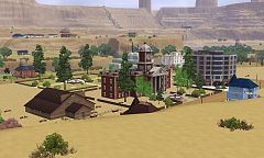 Sims 3 world, lot, neighbourhood